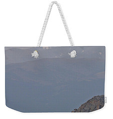 Weekender Tote Bag featuring the photograph Mountain Goat Sunset by Scott Mahon