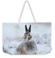 Mountain Hare - Scotland Weekender Tote Bag