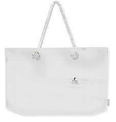 Mountain Hare Small In Frame Right Weekender Tote Bag