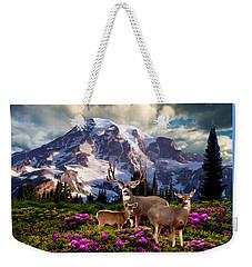 Mountain High Meadow Weekender Tote Bag