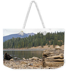 Weekender Tote Bag featuring the photograph Mountain Lake by Cindy Garber Iverson