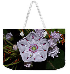 Mountain Laurel 005 Weekender Tote Bag by George Bostian