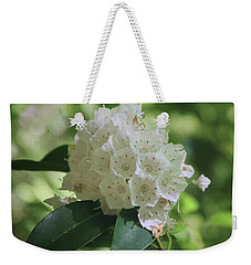 Weekender Tote Bag featuring the photograph Mountain Laurel - Spring by Nikolyn McDonald