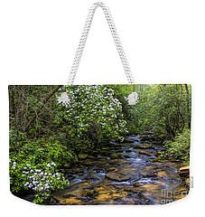 Mountain Laurels Light Up Panther Creek Weekender Tote Bag