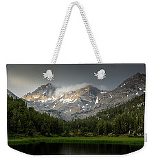 Mountain Light  Weekender Tote Bag by Duncan Selby