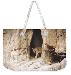 Mountain Lion - Light Weekender Tote Bag