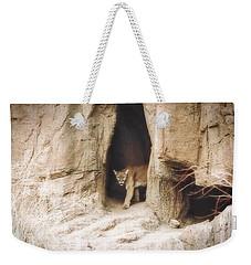 Mountain Lion - Light Weekender Tote Bag