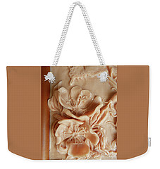 Mountain Meadow Original Clay - Primrose Detail Weekender Tote Bag