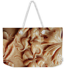 Mountain Meadow Original Clay Relief - Elephanthead Detail Weekender Tote Bag