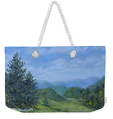 Mountain Meadows Weekender Tote Bag by Kathleen McDermott
