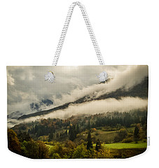 Mountain Mist Weekender Tote Bag