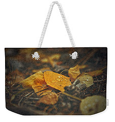 Weekender Tote Bag featuring the photograph Mountain Months  by Mark Ross