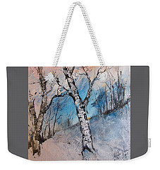 Mountain Morning Weekender Tote Bag