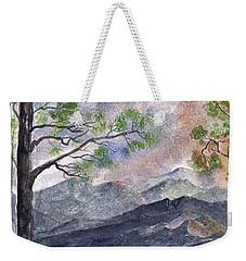 Mountain Morning Weekender Tote Bag