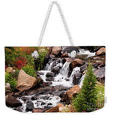 Mountain Music Weekender Tote Bag