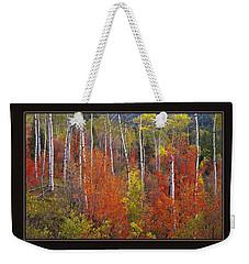 Mountain Of Color Weekender Tote Bag
