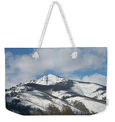 Mountain Peak Weekender Tote Bag by Jewel Hengen
