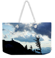 Mountain Peak Weekender Tote Bag