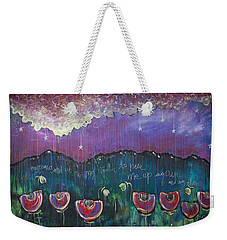 Mountain Poppies Weekender Tote Bag