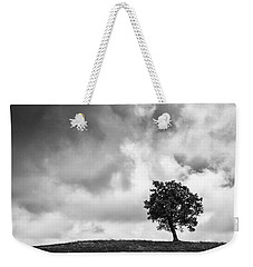 Tree On Hill - Doughton Park Blue Ridge Parkway Weekender Tote Bag