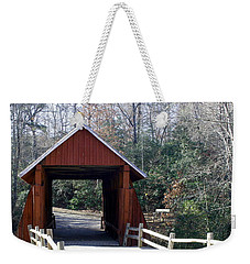 Campbells Covered Bridge 3 Weekender Tote Bag