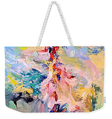 Mountain Range Weekender Tote Bag