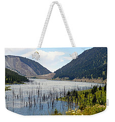 Mountain River Weekender Tote Bag