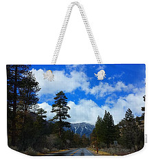 Mountain Road On A Spring Day Weekender Tote Bag