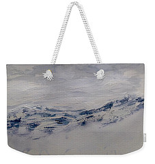 Mountain Scrape Weekender Tote Bag