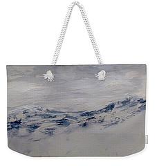 Mountain Scrape Weekender Tote Bag