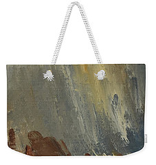 Mountain Side In Autumn Mist. Up To 90x120 Cm Weekender Tote Bag