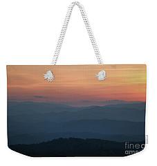 Mountain Slumber Weekender Tote Bag
