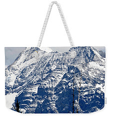 Mountain Snow Weekender Tote Bag