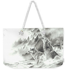 Mountain Spirits Weekender Tote Bag