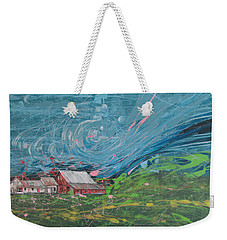 Strong Storm Weekender Tote Bag