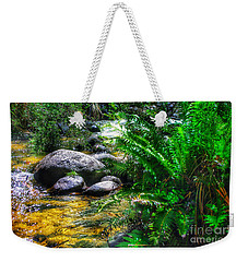 Weekender Tote Bag featuring the photograph Mountain Stream by Blair Stuart