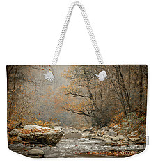 Mountain Stream In Fall #2 Weekender Tote Bag by Tom Claud