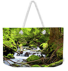 Mountain Stream In The Pacific Northwest Weekender Tote Bag