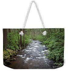Mountain Stream Laurel Weekender Tote Bag by John Stephens