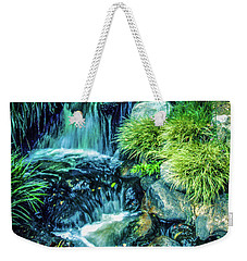 Weekender Tote Bag featuring the photograph Mountain Stream by Samuel M Purvis III