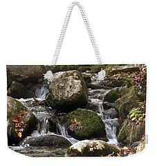 Mountain Stream Through Rocks Weekender Tote Bag