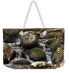 Mountain Stream Through Rocks Weekender Tote Bag
