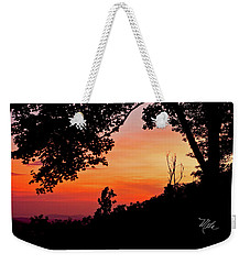Weekender Tote Bag featuring the photograph Mountain Sunrise by Meta Gatschenberger