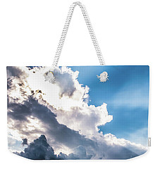 Weekender Tote Bag featuring the photograph Mountain Sunset Sightings by Shelby Young