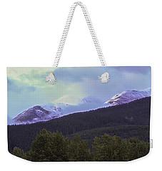 Mountain Top Weekender Tote Bag