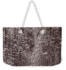 Mountain Trail Yellowstone Bw Weekender Tote Bag