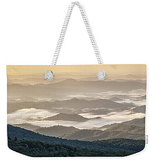 Mountain Valley Fog - Blue Ridge Parkway Weekender Tote Bag
