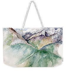 Mountain View Colorado Weekender Tote Bag by Catherine Twomey