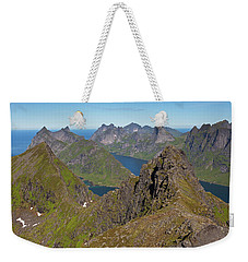 Mountain View From Munken Weekender Tote Bag