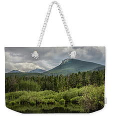 Mountain View From The Marsh Weekender Tote Bag